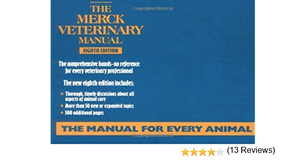 the merck veterinary manual collectif 9780911910292 books amazon ca rh amazon ca merck veterinary manual 11th edition pdf merck veterinary manual 11th edition pdf