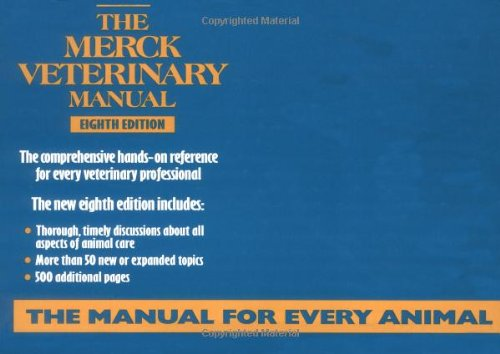 The Merck Veterinary Manual, 8th Edition