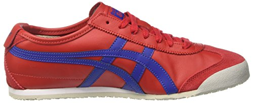 Onitsuka Tiger Mexico 66, Zapatillas para hombre Multicolor (True Red/Asics Blue)
