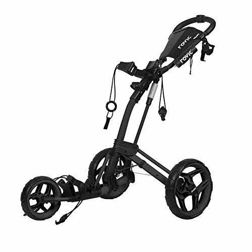 Rovic Clicgear RV2L Golf Push Cart (Charcoal/Black)