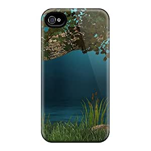 New Style Cases Covers EXC33712ukfV Quiet Beautiful Pond Compatible With Iphone 6 Protection Cases hjbrhga1544