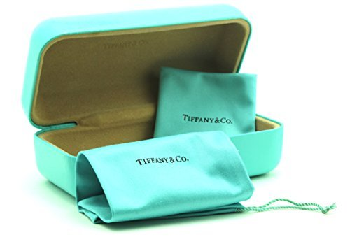 Tiffany & Co. Sunglass Eyeglass Large Hard Case w/Cleaning Cloth and Soft Pouch - shadyglasses.us