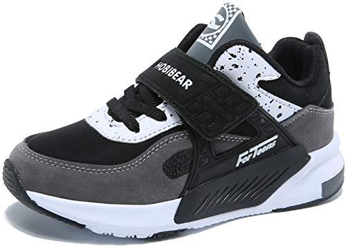 - GUBARUN Running Shoes for Kids Outdoor Hiking Athletic Boys Sneakers-9.5M Grey/Black