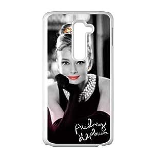 SANLSI Audrey Hepburn Cell Phone Case for LG G2