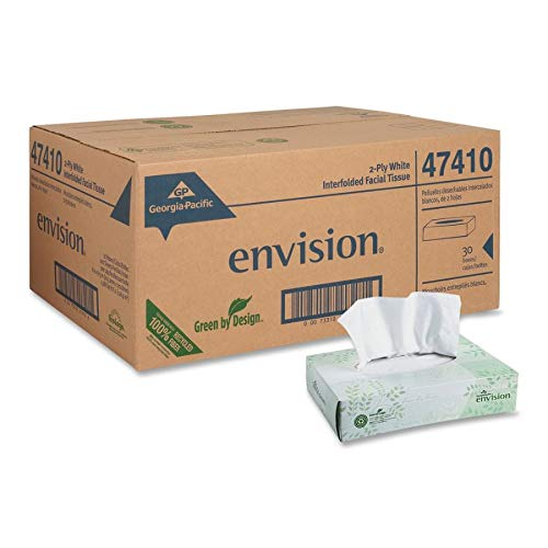 (Georgia Pacific Professional 47410 Facial Tissue, Box of 100 (Case of 30 Boxes))