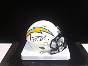 Philip Rivers Autographed Hand Signed San Diego Chargers Riddell Mini Helmet