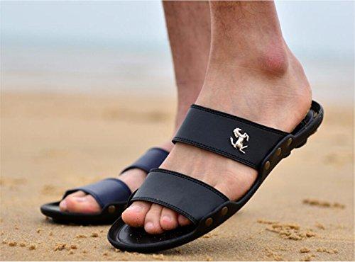 LXXAMens Luz Mulas Peso Verano Sandalias De blue Playa O1Aq8xOrw