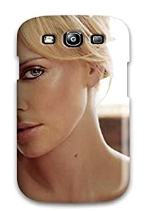 Hard Plastic Galaxy S3 Case Back Cover,hot Charlize Theron (42) Case At Perfect Diy