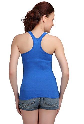 Femmes Sando style Camisole Vest Haut sans manches T-shirt d'été Réservoir