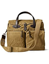 Men's 24 Hour Briefcase, Dark Tan, One Size