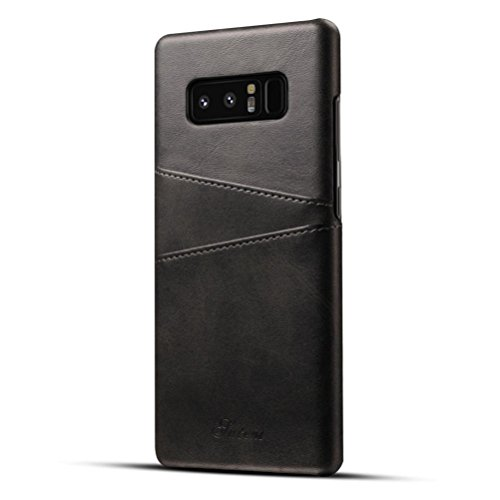For Samsung Galaxy Note 8 Case, Iusun Premium Leather Card Slots BackCover Protective Cover For Samsung Galaxy Note 8