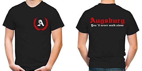 Augsburg Kranz T-Shirt | Funshirt | Fun | M2