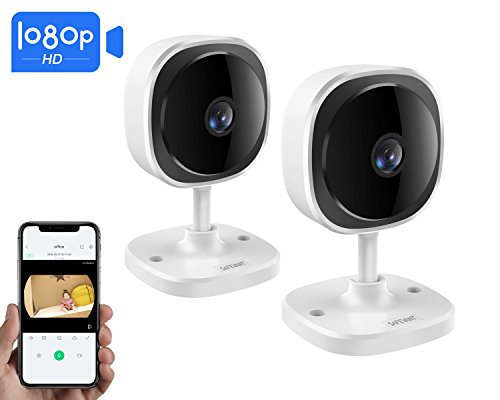 - [2018 Newest] Wireless IP Camera,Safevant 1080P HD Security Camera(2 Packs), Built in Two-Way Audio with, Indoor Camera with Night Vision,Motion Detection,Cloud Service Available