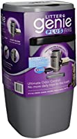 Litter Genie Plus Cat Litter Disposal System with Odor Free Pail System, Silver