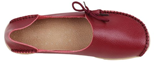 FangstoLoafer Flats - zapatilla baja mujer granate