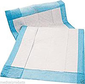 300 23 x 36 para adulto incontinencia urinaria desechables cama Pee Underpads: Amazon.es: Hogar