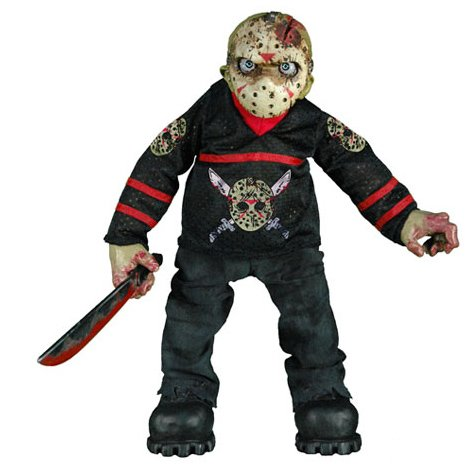 CINEMA OF FEAR EXCLUSIVE HOCKEY EDITION JASON VOORHEES 12 INCH PLUSH FIGURE