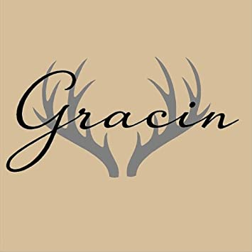 Amazoncom E Great Gift Vinyl Wall Decal Name With Antlers Kids - Custom vinyl wall decals deer