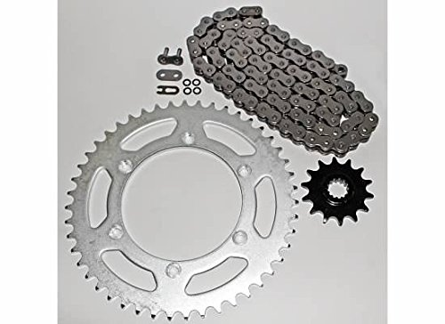 - 520-112L O Ring Chain and Sprocket Silver 14/47 Suzuki DR-Z400 2000-2003