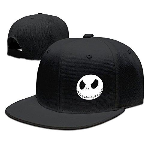 Karoda JACK's Nightmare Flat Brim Baseball Caps Hip Hop Hat Black