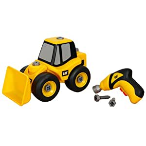 Toy State Caterpillar Construction Take-A-Part Trucks: Wheel Loader