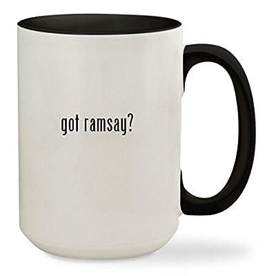got ramsay? - 15oz Colored Inside & Handle Sturdy Ceramic Coffee Cup Mug