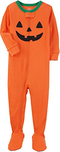 Carter's Baby Boys' Halloween One Piece Snug Fit Cotton Pajamas 12 (Carter's Halloween)
