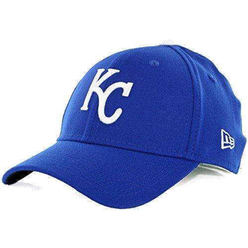 MLB Kansas City Royals Team Classic Game 39Thirty Stretch Fit Cap, Blue, Large/X-Large (Park Stadium Replica)