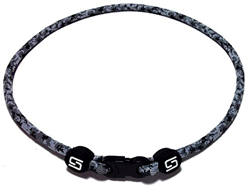 Sport Ropes 1 Rope Titanium Necklace (Camo, 22