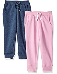 Spotted Zebra girls 2-pack Joggers Pants