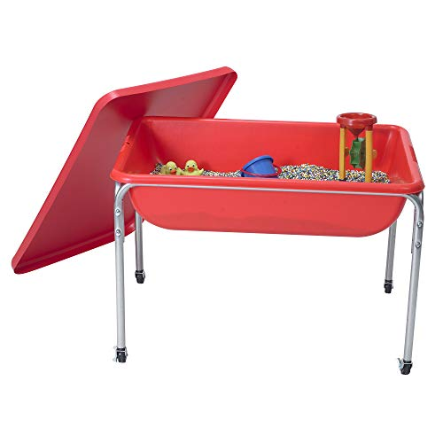 Children's Factory Large Sensory Table and Lid Set, 36