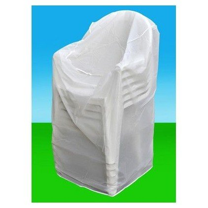 OSE Housse De Protection Pour Chaises De Jardin   Blanc: Amazon.fr: Jardin