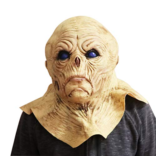Waltz&F Halloween Horrific Demon The Evil Dead Cosplay Props Alien Bloody Monster Masks]()