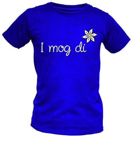 Wiesn T-Shirt - I mog di - lustiges Sprüche Wiesn Shirt ideal für's Oktoberfest statt Lederhose und Dirndl