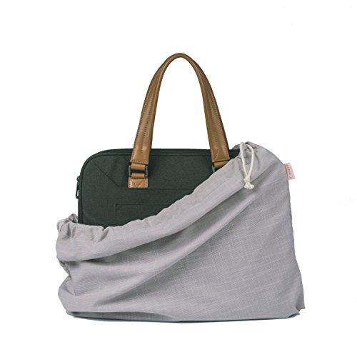 T-mars Cotton, Breathable Dust Proof Bag for Handbag, Shoes, Purse Storage, Drawstring Travel Organizer, Set of 3 (Beige)