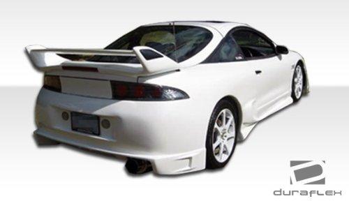 - Duraflex ED-YTI-288 Blits Rear Bumper Cover - 1 Piece Body Kit - Compatible For Mitsubishi Eclipse 1995-1999