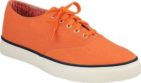 Sperry Top-sider Donna Cvo 1 Barca Scarpe Arancione Tela