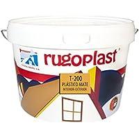 Rugoplast - Pintura plástica mate blanca económica T-200