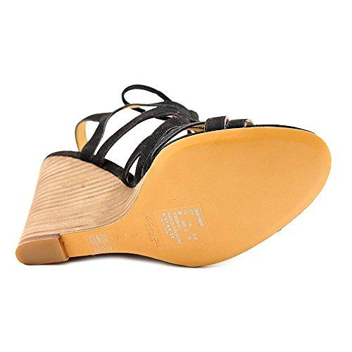 Entraîneur Joie Femmes Nous 7.5 Sandale Compensée Noire