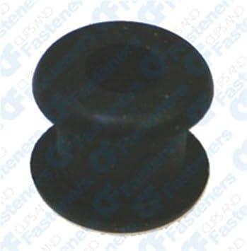 25 3//32 Rubber Grommets 3//16 Bore Diameter 3//8 O.D.