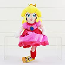 Super Mario Peach Princess Soft Plush Stuffed Animals Doll Kids Toys 22 cm