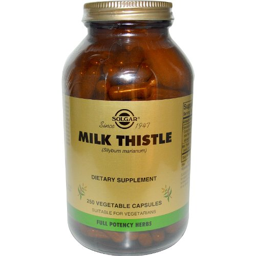 Solgar Milk Thistle Vegetable Capsules product image