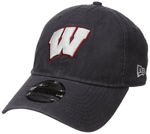 New Era NCAA Adult Core Classic Graphite 9TWENTY Adjustable Cap
