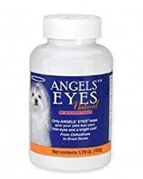 ANGELS\'s Eyes Natural Tear Stain Eliminator Remover, Vegetarian Recipe with Sweet Potato, 150-Gram