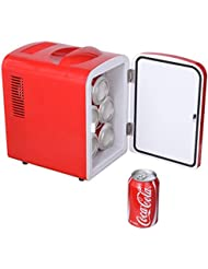 GHP Portable Car/Boat/Home Retro Mini Personal Fridge Cooler & Warmer AC/DC