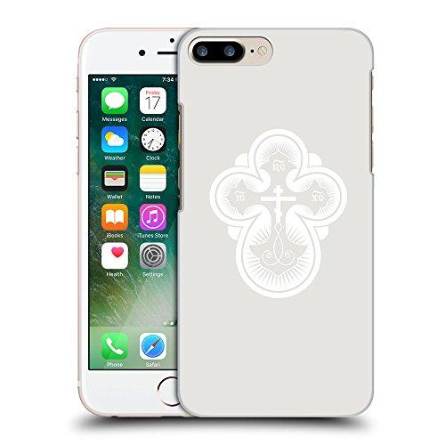 GoGoMobile Coque de Protection TPU Silicone Case pour // Q09300631 Croix chrétienne 40 Platine // Apple iPhone 7 PLUS