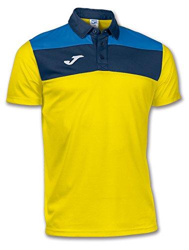 Joma Polo Crew, Camiseta para Hombre, Amarillo,: Amazon.es: Ropa y ...