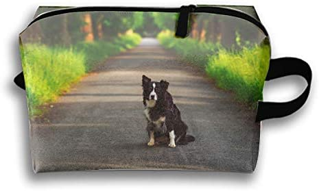 Australian Shepherds Dogs Cosmetic Bag - MakeUp Organizer - Lightweight Toiletry Travel Bag