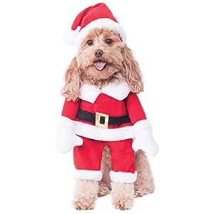 Rubie's Walking Santa Pet Costume, X-Large