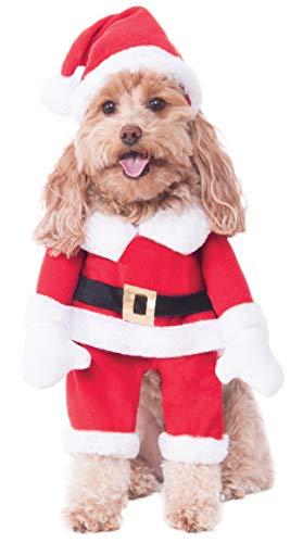Rubie's Costume Co Walking Santa Pet Costume -